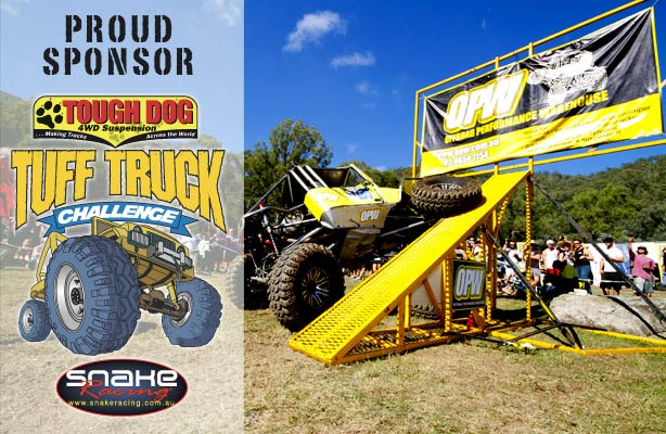 Proud sponsor of the Tough Dog Tuff Truck Challenege