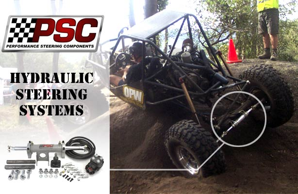 PSC Hydraulic Steering Systems